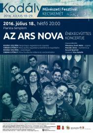 Az Ars Nova koncertje