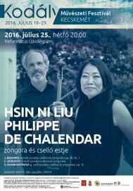 Hsin Ni Liu és Philippe De Chalendar estje