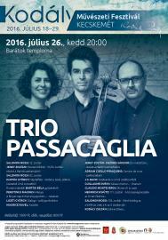 Trio Passacaglia koncertje