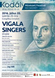 Vigala Singers koncertje